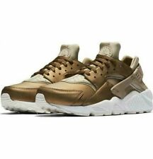 NIKE HUARACHE RUN PRM TXT KHAKI METALLIC FIELD SUMMIT WMNS SZ 5-11 AA0523-201