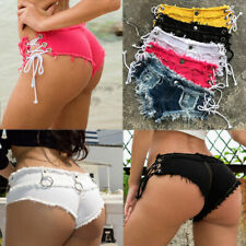 Sexy Women Lady Mini Hot Pants Jeans   Shorts Denim Low Waist Short Pant