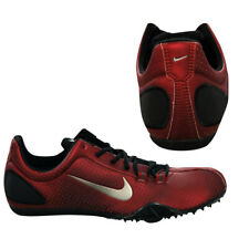 abba2f684424 Nike Zoom Maxcat Mens Trainers Red Running Sprint Spikes Shoes 307096 601  Q4K