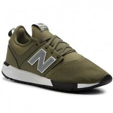 SNEAKER UOMO NEW BALANCE 247 LIFESTYLE MESH SYNTHETIC SPACE GREEN