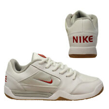 the best attitude 48527 06ef4 Nike Lykin GS Junior Older Kids Low Top White Leather Trainers 306167 161  U36