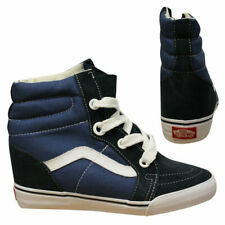 dfe7e3f861ceeb Vans OTW SK8 Hi Wedge Navy Blue Unisex Lace Up Trainers Hi Top UDHNWD VA