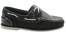 Timberland Earthkeepers Classic 2 Eye Womens Boat Shoes Navy Leather 26609 D119