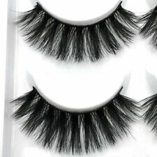 100% Mink 5Pair Natural Thick False Fake Eyelashes Eye Lashes Makeup Extension Z