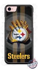 Pittsburgh Steelers Tread Logo Custom Phone Case Cover For iPhone Samsung Moto