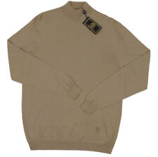NEW Vintage 90's Gianni Versace Istante Mens Sweater!  Camel or Navy  RARE