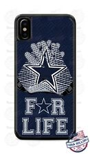 Dallas Cowboys For Life NFL Phone Case Cover For iPhone Samsung LG Google etc