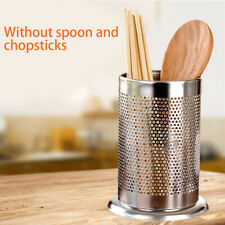 Draining Rack Chopsticks Spoon Fork Storage Box Kitchen Tableware Cutlery Holder