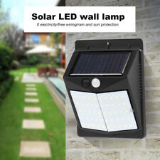 50/70LED Solar Power Light PIR Motion Sensor Security Outdoor Garden Wall Lamp