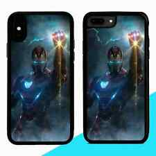 Iron Man Avengers Superhero Comic Marvel RUBBER PHONE CASE COVER FOR IPHONE