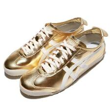 Asics Onitsuka Tiger Mexico 66 Gold White Men Casual Shoes Sneakers THL7C2-9401
