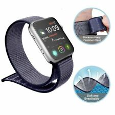 Sport Loop Woven Nylon Replacement Band Strap for Apple Watch Series 1 2 3 4