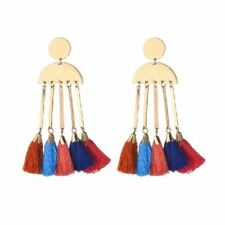ODIE MULTI TASSEL STATEMENT EARRING
