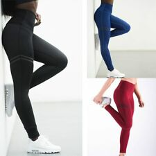 1df79b240bef4b High Elastic Fitness Sport Leggings Tights Slim Running Sportswear Sports  Pants