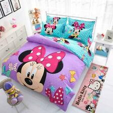 Disney Mickey Mouse Minnie Mouse Winnie Duvet Cover Set 3 or 4 Pieces Twin Si...
