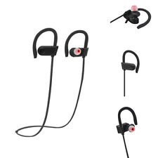 Bluetooth Headset Wireless Stereo Headphones Sport Earphone Earbuds With Mic CHZ