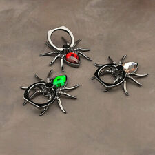 Spider Finger Ring Grip Cell Phone Holder Stand Attachment Rotating Mount USA