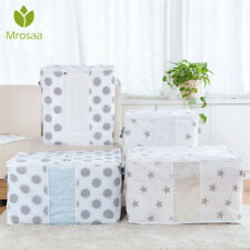 Foldable Storage Bags Folding Organizer Bag for Clothes Quilt Blanket Pillow