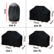 Black Waterproof BBQ Cover BBQ Accessories Grill Cover Anti Dust Rain Gas