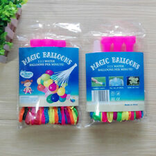 QUICK FILL BALLOON LATEX WATER BALLOONS, COLORFUL AIR BALLOONS, BIODEGRADABLE