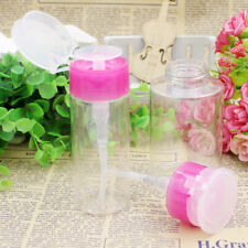 Nail Art Equipment Empty Pump Dispenser Liquid Gel Polish Remover Clean Bottle