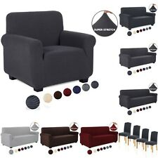 1-4 Seater Sofa Covers Throw Slipcover Chair Covers Elastic Couch Protector