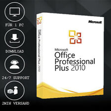 MS Office 2010 Professional Plus [Pro Plus] 32&64 Bits - ESD delivery per E-Mail