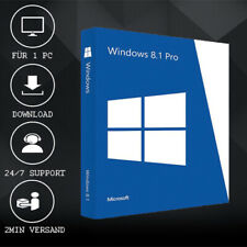 MS Windows 8.1 Professional - Win 8.1 Pro - 32&64 Bits - ESD delivery per E-Mail