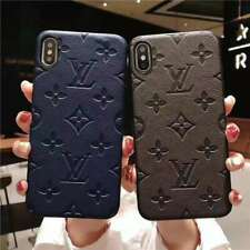 luxury Leather LV23 iPhone 7 8 Plus 6S XS Max XR XS X Case Cover Protective case