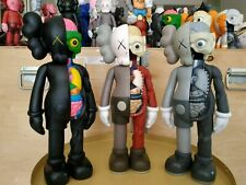 "2006 KAWS dissected brown grey black 16"" bff companion slate open holiday flayed"