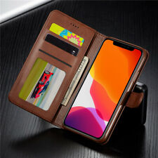 Luxury Magnetic Leather Flip Wallet Card Slot Case Cover For iPhone 11 Pro Max