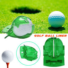 Plastic Golf Ball Line Clip Marker Template Drawing Alignment Marks Putting Tool