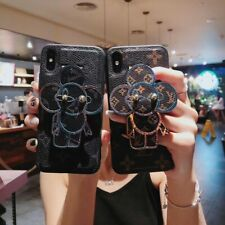 Luxury LV31 Leather Wrist Strap Case Cover For iPhone XS XS Max XR X 8 7 6 Plus