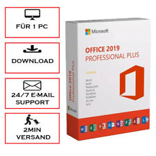 Office 2010/2013/2016/2019/365 Professional Plus (PRO PLUS)  - per E-Mail
