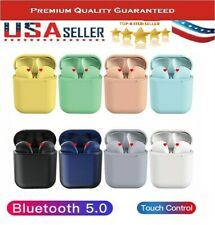 NEW 12 TWS WIRELESS INPODS 5.0 BLUETOOTH Headphones Airpods For iphone Android
