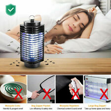 Electric Mosquito Fly Bug Insect Killer Zapper Light UV LED Trap Pest Control