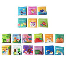 6pcs Intelligence Development Cloth Bed Cognize Book Educational Toy Baby