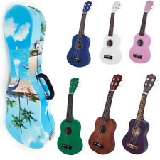 21/23 Inch Kid Beginner Soprano Ukulele Instrument Acoustic Guitar With Tote Bag