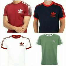 Adidas Original Retro California Short Sleeve Crew Neck Mens T-Shirt UK Stock