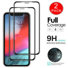 2 Pack For iPhone 11 Pro Max Full Cover Premium Tempered Glass Screen Protector