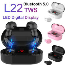 L22 TWS Bluetooth 5.0 Headphones Wireless Earphones Earbud For IOS Android