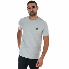 Mens Lyle And Scott Crew Neck T-Shirt In Light Silver