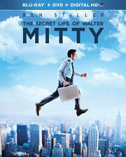The Secret Life of Walter Mitty (2014, Blu-ray Disc / DVD) BRAND NEW SEALED