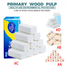 Toilet Paper Rolls Pack 3/4ply Quilt Tissues Soft Luxury Bathroom Strong Paper