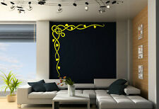 Celtic Vine Corner Art Vinyl Wall Stickers Amazing Decal Decor High Quality NEW