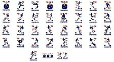 ♥ PITCH TEAM Cartes Collection SPORT EQUIPE DE FRANCE DE FOOTBALL 2012 ♥