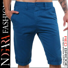 Redbridge by Cipo & Baxx Herren Chino Shorts Bermuda RB-1012 blau