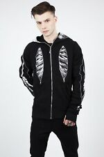 LIVING DEAD SOULS.JAWBREAKER SKELETON BLACK HOODIE DHM0310 HALLOWEEN PARTY UK