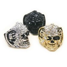 SK019 Cubic Star Eye Skull Alloy Ring / Free Gifts & Tracking Number