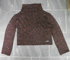DKNY GIRLS aubergine JUMPER BRAND NEW WITH TAGS